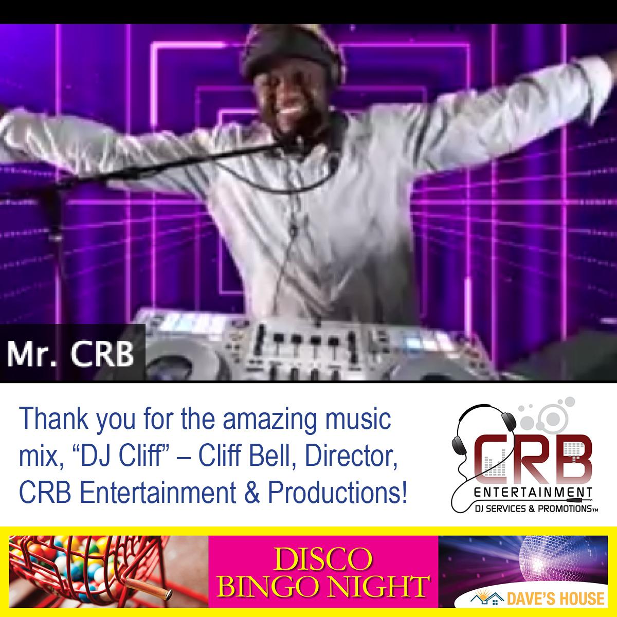 CRB Entertainment's DJ Cliff