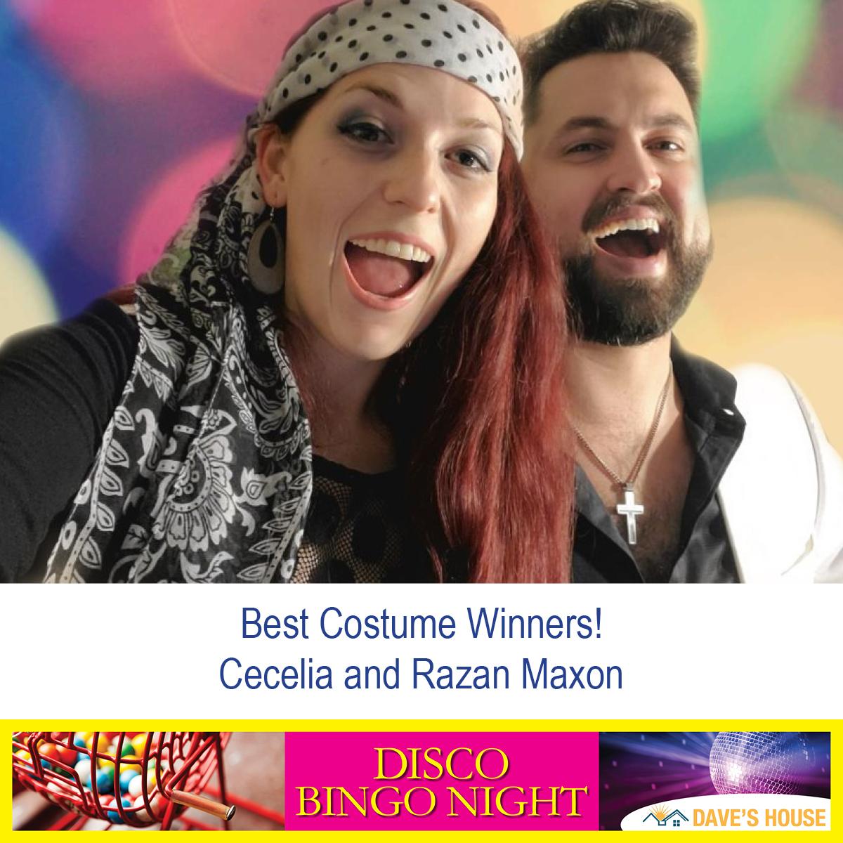 Razan and Cecelia Maxon, Best Costumes Winners