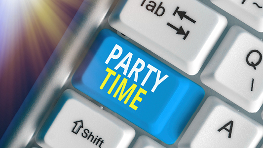 Party time keyboard