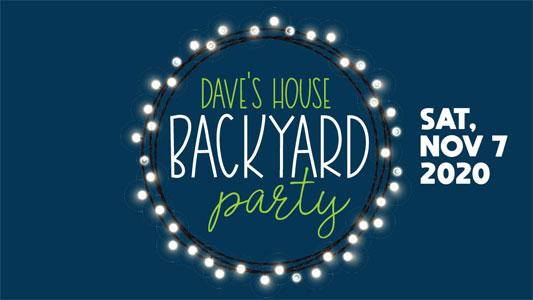 Dave's House Backyard Party