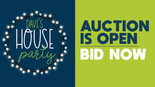 Dave's House Party Auction is Open